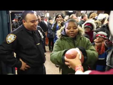 Spreading Holiday Joy In The Bronx