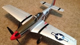 Unboxing, Review, and Maiden of the Parkzone Ultra Micro P-51 Mustang BNF with AS3X Technology
