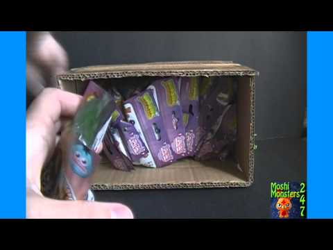 Moshi Monsters Moshlings Series 2 Blind Pack BOX Opening Part 1 / 2