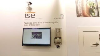light+building 2016: Produktvideo Axis Communications GmbH - ise Smart App KNX-Axis