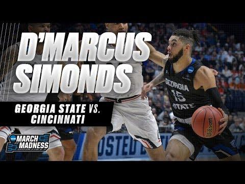 D'Marcus Simonds shines as Georgia State falls short to Cincinnati