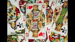 Гадание на игральных картах. ПОГАДАЕМ НА КОРОЛЯ. Его чувства, мысли, поведение.