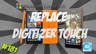 replace touch lumia 535 repair digitizer touchscreen microsoft nokia