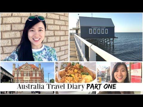 Australia! Perth, Bunbury, Busselton | Travel Diary [Pt. 1]