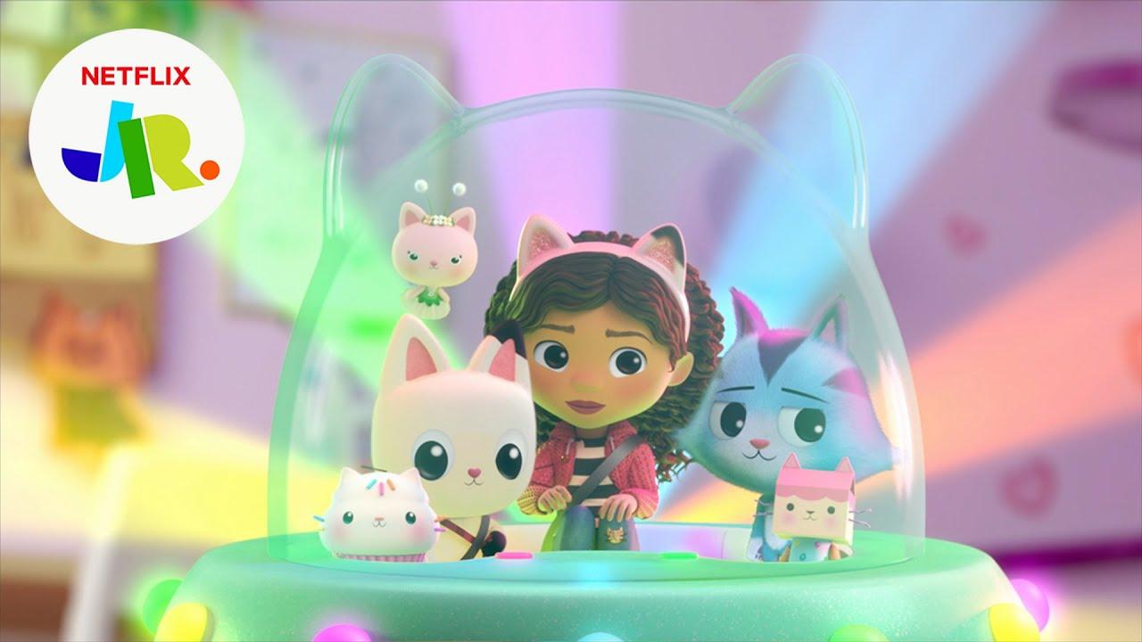Download CatRat's Stuck on a Spaceship! 🛸 Gabby's Dollhouse   Netflix Jr