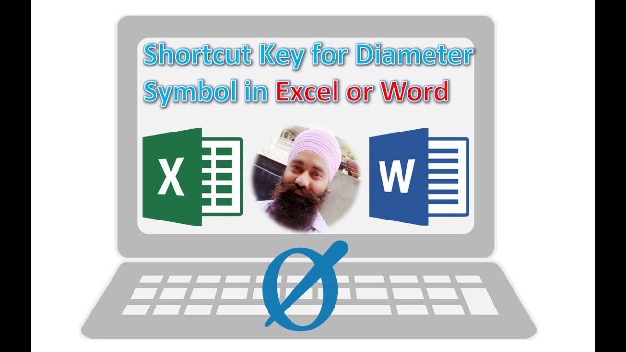 how to put symbols on excel