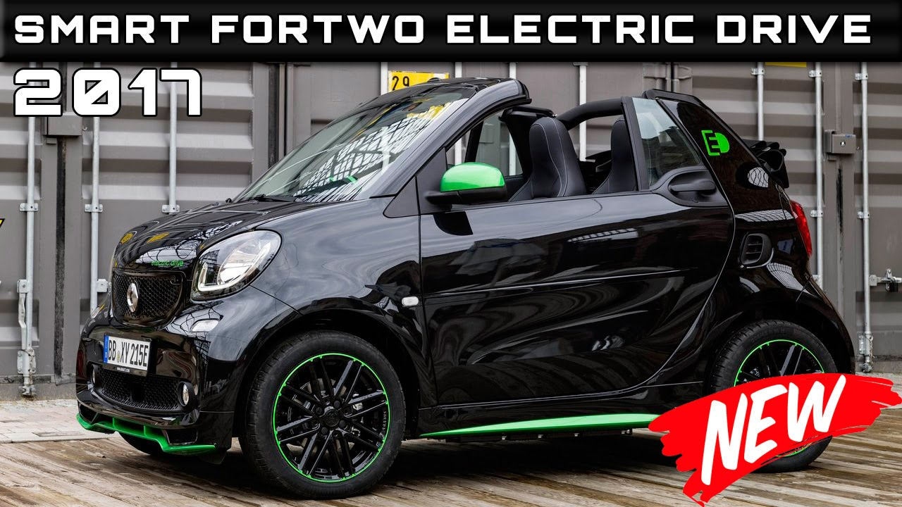 2017 Smart Fortwo Cabrio Electric Drive Review Rendered Price Specs Release Date