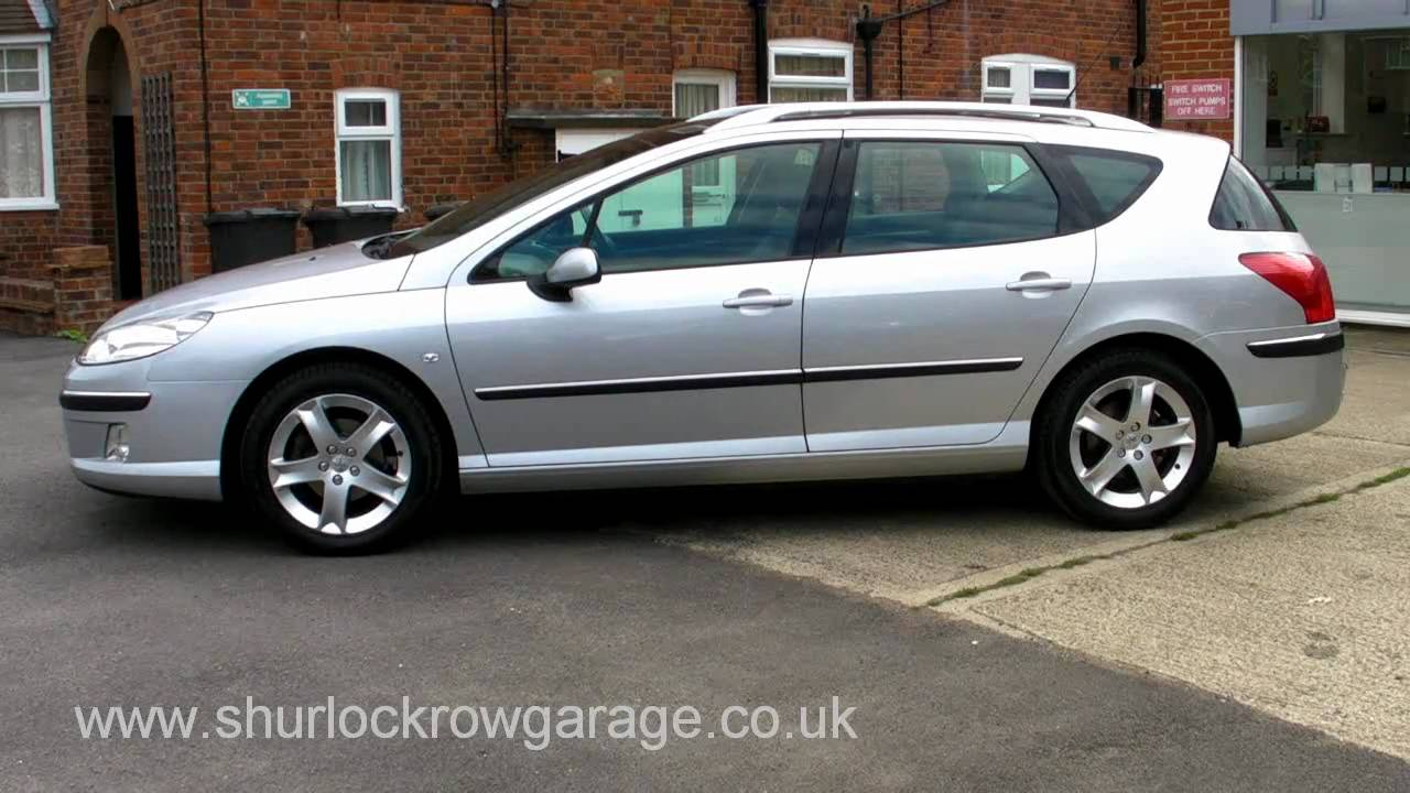 peugeot 407sw 2 0 hdi sport estate for sale youtube. Black Bedroom Furniture Sets. Home Design Ideas