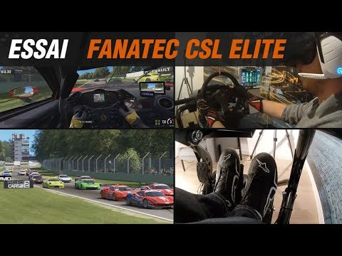fanatec csl elite ps4 pc volant en action partie 2 2. Black Bedroom Furniture Sets. Home Design Ideas