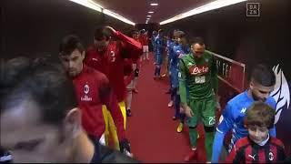 Milan 0 x 0 Napoli (HD) Melhores Momentos - Italiano (26/01)