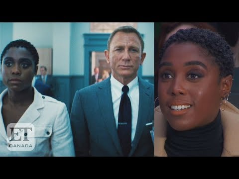 Lashana Lynch Reacts To 'No Time To Die' Trailer