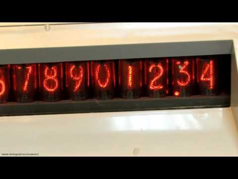 """Советский калькулятор """"Электроника Д3"""". Soviet calculator """"Elektronika D3"""" (circa 1979)"""