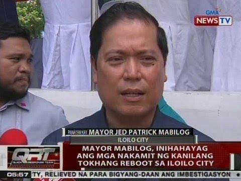 QRT: Panayam kay Iloilo City Mayor Jed Patrick Mabilog