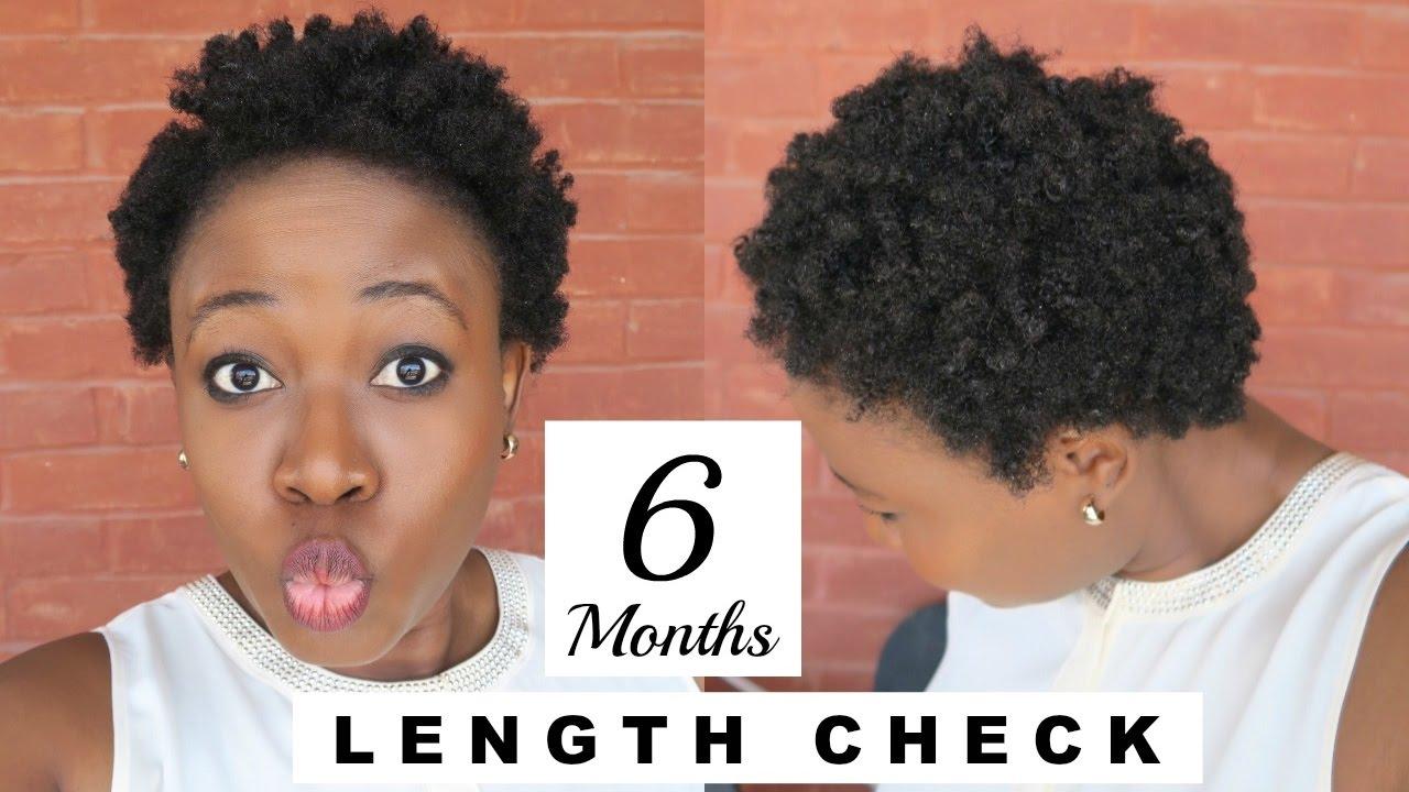 LENGTH CHECK 4C NATUAL HAIR 6 Months Post Big Chop