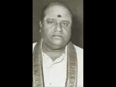 M.M.Dhandapani Desikar - Traditional song -maname unnakithamai.
