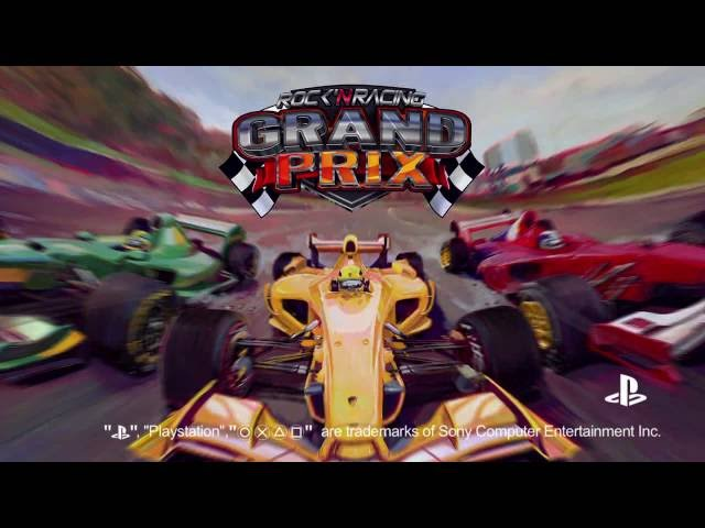 Grand Prix Rock 'N Racing PS4 Trailer