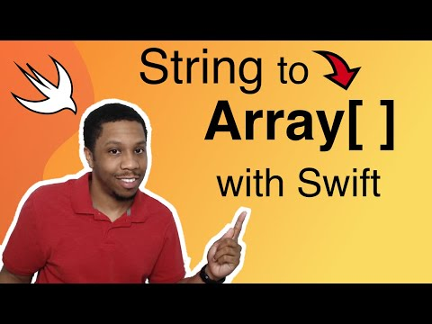 String to Array Swift Tutorial thumbnail
