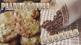 PEANUT COFFEE COOKIES