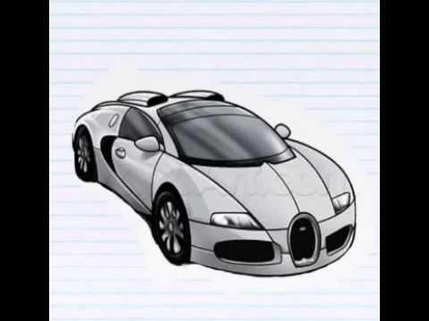 How To Draw A Bugatti Veyron How To Design Car A Bugatti Veyron