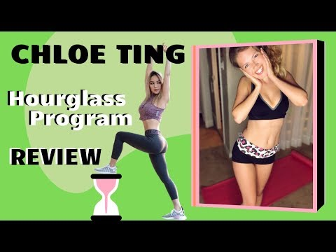 I Tried The Chloe Ting Hourglass Program - Workout Challenge