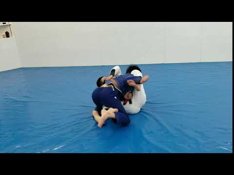 Back roll sweep Koji Shibamoto