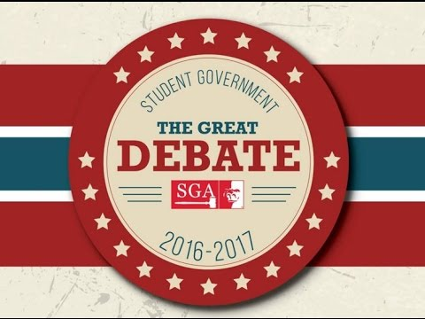 2016 SGA Presidential Debate (full program) - Pittsburg Stat