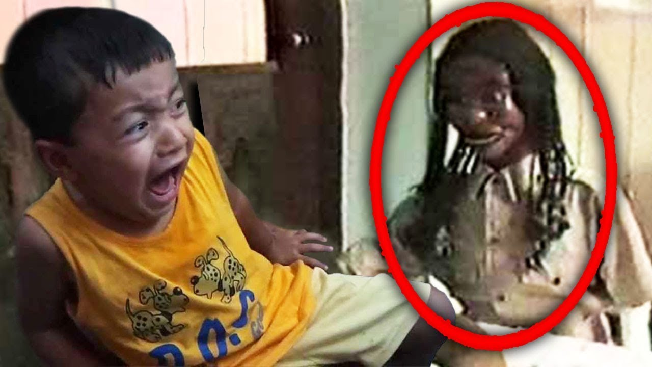 Download Top 5 Creepy Haunted Dolls CAUGHT MOVING ON CAMERA!