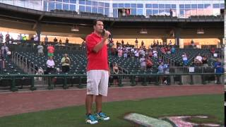 Dan Skoff Sings the National Anthem