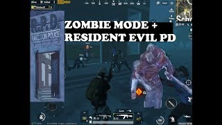 NEW PATCH | PUBG MOBILE | ZOMBIE MODE RACOON CITY PD WITH BIRKIN INSIDE !!!