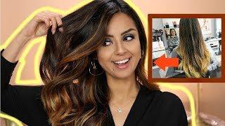 Färben,Schneiden,Föhnen! Friseur  VLOG I Meine neue Haarfarbe I Tamtam Beauty