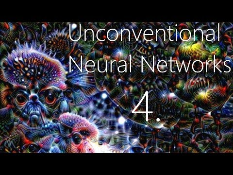 Classification Generator Training Attempt - Unconventional Neural Networks p.4