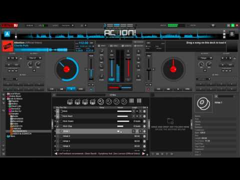 Virtual DJ - Attention CHARLIE PUTH (remix-added bass)