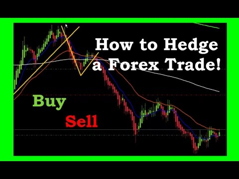 How to Hedge a Forex Trade to make money in both directions - YouTube