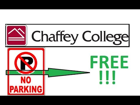 Chaffey College Free Parking