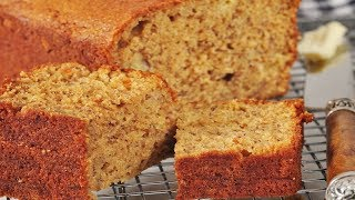 Low Fat Banana Bread Recipe Demonstration - Joyofbaking.com