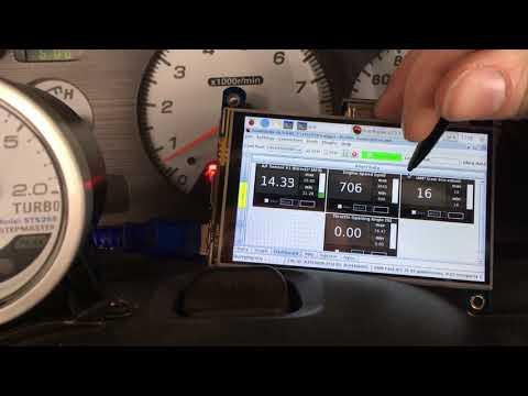 Raspberry Pi + RomRaider - Working in car - Subaru WRX/STi