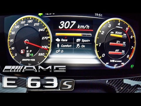 2017 Mercedes AMG E63 S 0 307 km h TOP SPEED ACCELERATION by AutoTopNL