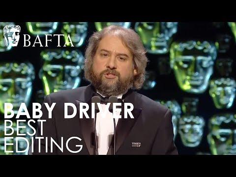 Baby Driver wins Editing award | EE BAFTA Film Awards 2018