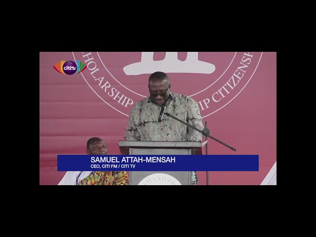 Citi FM/TV CEO, Sammens, encourages young people to be agents of change in society