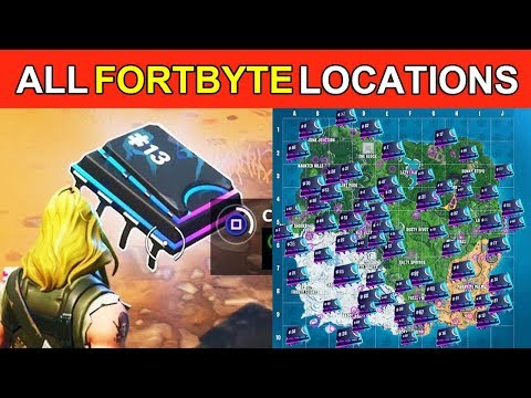 ALL 1 - 100 FORTBYTE LOCATIONS! - EVERY FORTNITE FORBYTE LOCATION GUIDE! (COMPLETE FORTBYTE)