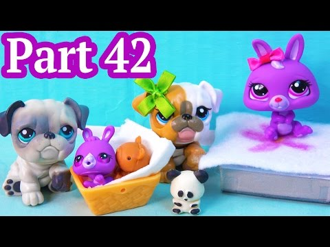 LPS Hospital Visit With Gifts - Mommies Part 42 Littlest Pet Shop Series Video Movie LPS Mom Babies
