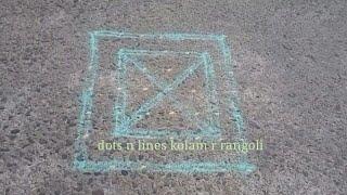 line rangoli