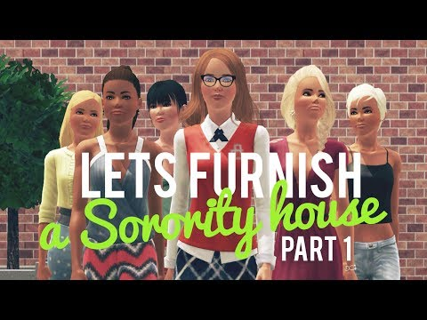 The Sims 3 Lets Furnish a Sorority House—Part 1