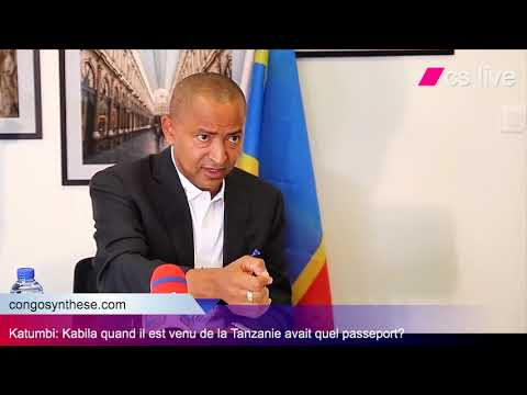 Moïse Katumbi: JOSEPH KABILA EST VENU AU CONGO AVEC QUEL PASSEPORT?