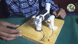 Student bouwen van een AC-Generator