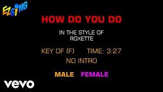 Roxette - How Do You Do (Karaoke)