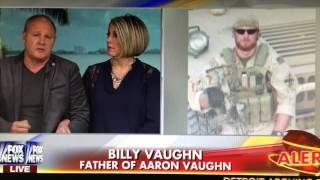 """Please Resign Mr. President"" Father of Navy Seal Aaron Vaughn"