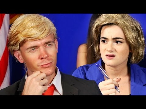 Thumbnail: If Donald Trump and Hillary Clinton were in High School