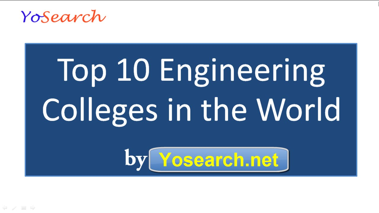 Top 10 Engineering Colleges in the World | Top Engineering ...