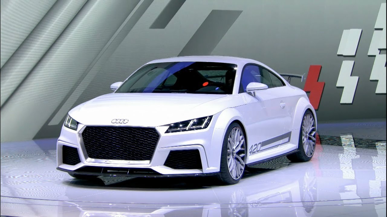2015 Audi TT quattro sport concept World Premiere  YouTube